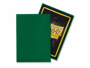 Dragon Shield: Standard Sleeves – Matte Green (100 Sleeves)