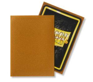 Dragon Shield: Standard Sleeves – Matte Gold (100 Sleeves)