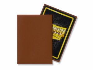 Dragon Shield: Standard Sleeves – Matte Umber (100 Sleeves)