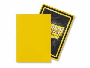 Dragon Shield: Standard – Matte Yellow (100)