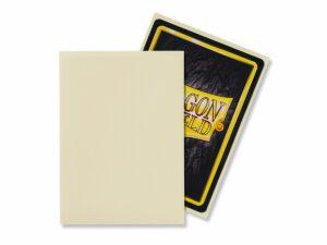 Dragon Shield: Standard Sleeves – Matte Ivory (100 Sleeves)