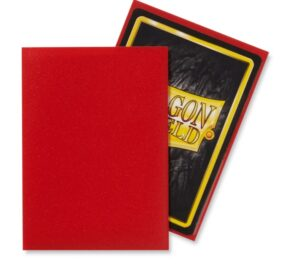 Dragon Shield: Standard – Matte Crimson (100)