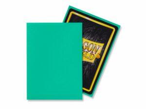 Dragon Shield: Standard Sleeves – Matte Mint (100 Sleeves)