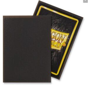 Dragon Shield: Standard Sleeves – Matte Slate (100 Sleeves)