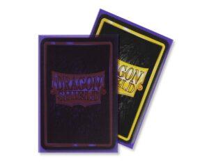 Dragon Shield: Standard – Matte Clear Purple (100)