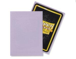 Dragon Shield: Standard Sleeves Matte Lilac (100 Sleeves)