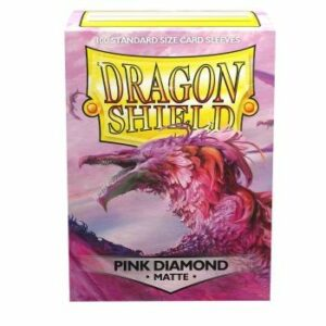 Dragon Shield: Standard – Pink Diamond (100)