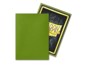 Dragon Shield: Standard Sleeves – Matte Olive (100 Sleeves)