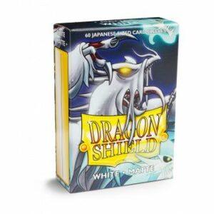 Dragon Shield: Small – Japanese Matte White (60)