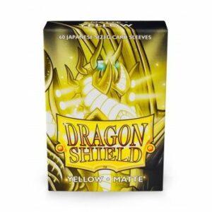 Dragon Shield: Small – Japanese Matte Yellow (60)