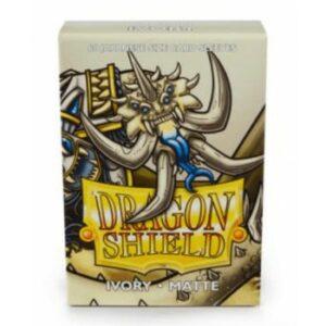 Dragon Shield: Small – Japanese Matte Ivory (60)