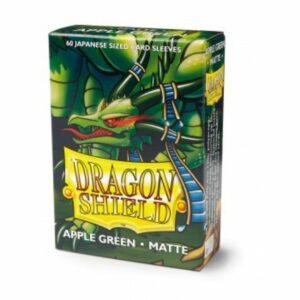 Dragon Shield Small Sleeves- Japanese Matte Apple Green (60)