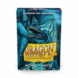 Dragon Shield: Japanese Matte Sleeves – Petrol (60 Sleeves)