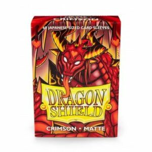 Dragon Shield: Small – Japanese Matte Crimson (60)