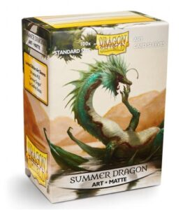 Dragon Shield: Standard – Summer Dragon Art Matte (100)