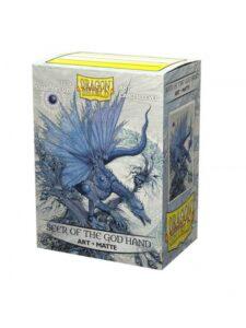 Dragon Shield: Matte Art ?Seer Of The God Hand (100u)