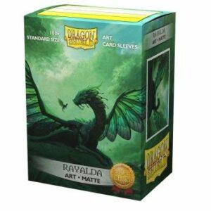 Dragon Shield: Matte Art Sleeves – Rayalda (100 Sleeves)