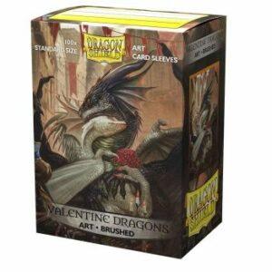 Dragon Shield: Brushed Art – Valentine Dragon 2021 (100)