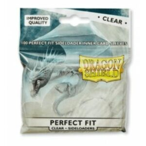 Dragon Shield: Standard Perfect Fit Sideloading – Clear(100)