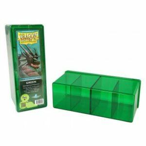Dragon Shield: 4 Compartment Storage Box – Green