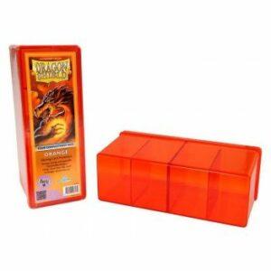Dragon Shield: 4 Compartment Storage Box – Orange