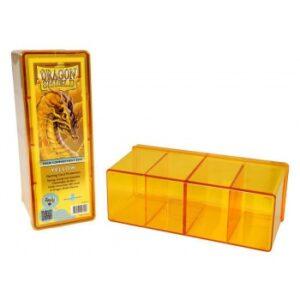 Dragon Shield: 4 Compartment Storage Box – Yellow