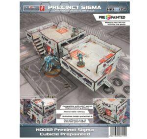 Precinct Sigma Post (1) PREPAINTED (grey)