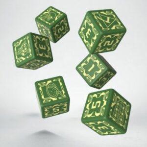 Battletech: House Liao D6 Dice Set
