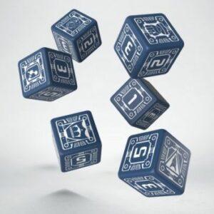 Battletech: House Steiner D6 Dice Set