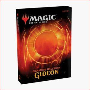 Magic The Gathering: Signature Spellbook – Gideon (Inglés)