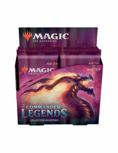 MtG: Commander Legends Collector Booster Box (12 Packs) – EN