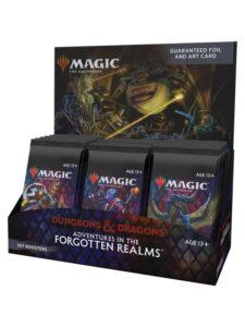 MTG Forgotten Realms: Caja Sobres Set (EN)