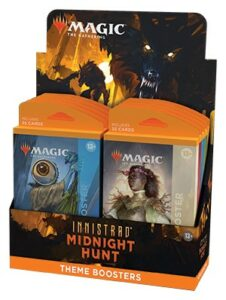 Mtg: Innistrad: Midnight Hunt Theme Booster (Ingles)