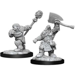 Magic The Gathering: Dwarf Fighter & Cleric