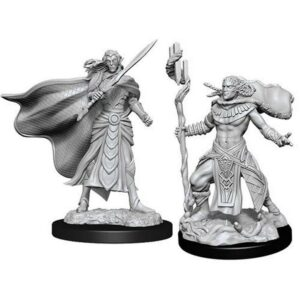 Magic The Gathering: Elf Fighter & Cleric