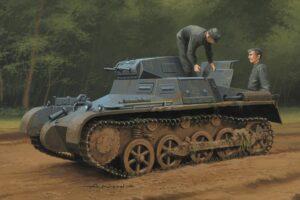 1:35 Hb 80145 G Panzer 1Ausf A Sd.Kfz.101 Calcas Esp