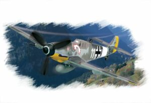 1:72 Hobby Boss 80225 Bf109 G-6 (early)