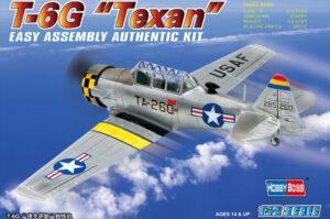 1:72 Hobby Boss 80233 T6G Texan Adv Trainer Aircraft+Calcas