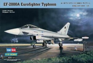 1:72 Hobby Boss 80264 EF-2000 EuroF Typhoon + Calcas Esp