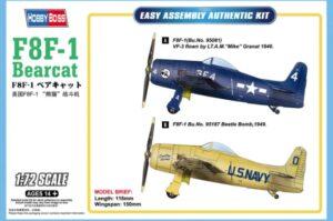 1:72 Hobby Boss: F8F-1 Bearcat