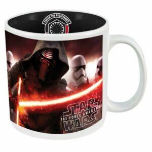 Star Wars Episode VII Taza Grande Kylo Ren & Stormtrooper