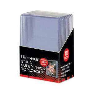 3″ X 4″ Super Thick 200PT Toploader 10ct