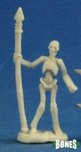 Reaper: Skeleton Warrior Spearman (3) 77244
