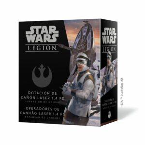 Star Wars Legion: Dotacion De Cañon Laser 1.4 FD