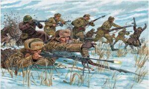 1:72 Italeri: WWII- RUSSIAN INFANTRY (WINTER UNIF) (ITA6069)
