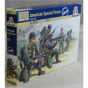 1:72 Italeri: VIETNAM WAR- AMERICAN SPECIAL FORCES (ITA6078)