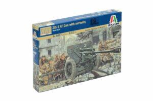 1:72 Italeri: WWII-ZIS 3 AT GUN WITH SERVANTS (ITA6097)