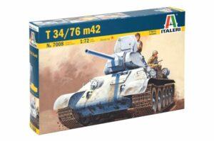 1:72 Italeri: T-34/76 M42 (ITA7008)