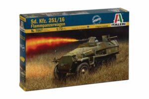1:72 Italeri: SD.KFZ.251/169 Flammpanzerwagen (ITA7067)