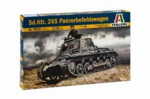 1:72 Italeri: Sd.Kfz. 265 Panzerbefehlswagen (ITA7072)